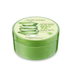 Soothing and Moisture ALOE VERA 92% soothing gel, Nature Republic, Korea – 300ml