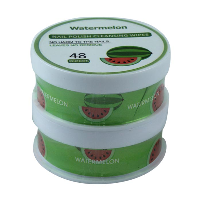 Nail Polish Remover Watermelon Fragrance Cleansing Wipes Miniso Japan Shahebbibi Com