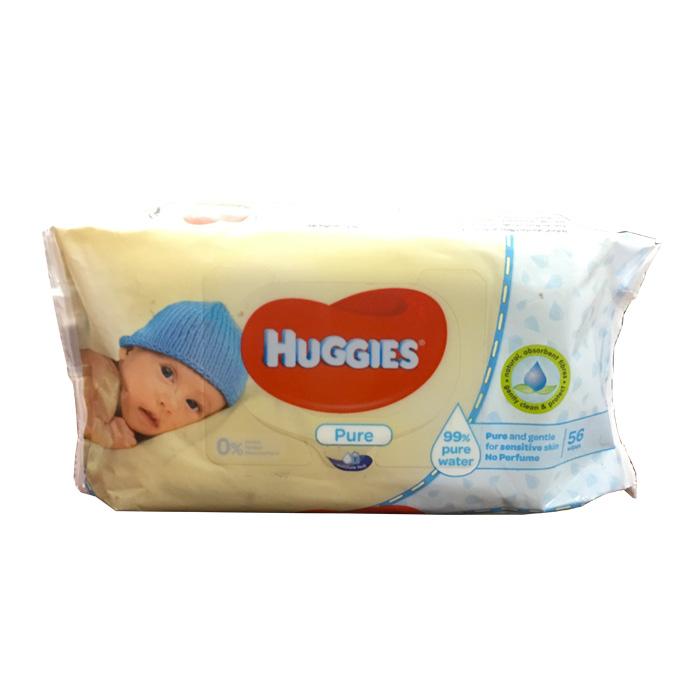 Baby Wipes 56pcs Huggies Shahebbibi Com