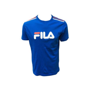 Men's T-Shirt, FILA (Royal Blue) Crew Neck