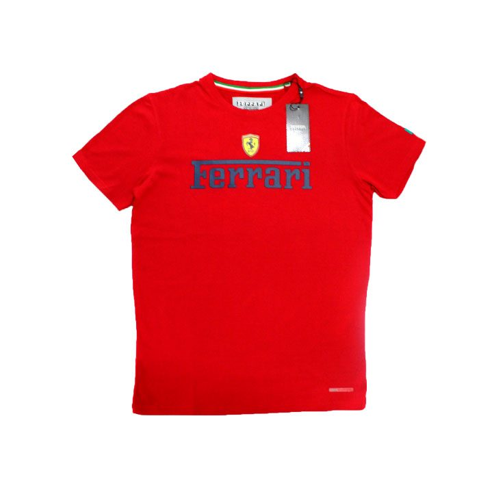 buy good wholesale price new design Men's T-Shirt, Ferrari (Red)