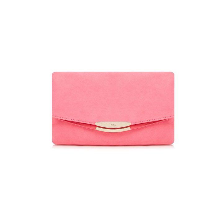 popular brand well known reasonable price Faith (UK), Pink Polly Oversized Clutch Bag, Bright Pink
