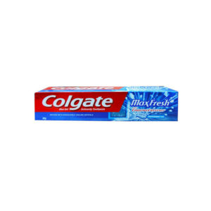 Colgate, Max Fresh Blue Gel Peppermint Ice Toothpaste, 80g