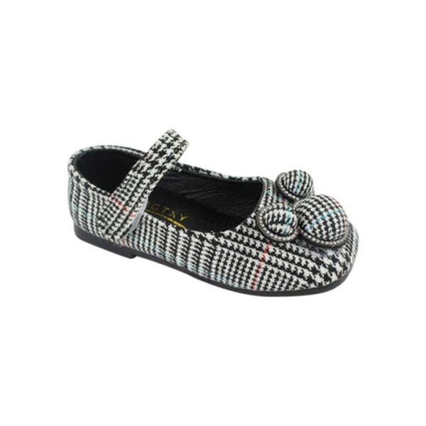 Girls  Fashionable Shoes – Formal Check (18-60 months) – ShahebBiBi.com
