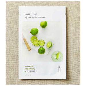 Innisfree (Korea), My Real Squeeze Mask – Lime, 1 sheet/20ml
