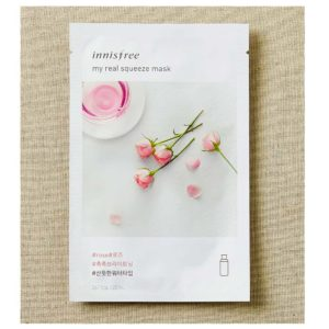 Innisfree (Korea), My Real Squeeze Mask – Rose, 1 sheet/20ml