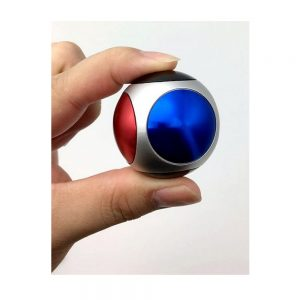 Stress Reliever Metal Finger Top Fidget Ball
