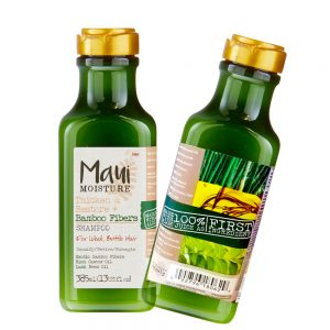 Maui Moisture Shampoo (USA), Thicken & Restore + Bamboo Fiber – 385ml